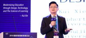 Xie offers Featured Talk at 2018 China Smart Show