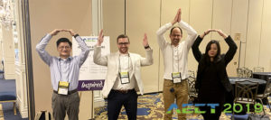 Team Attends 2019 AECT Convention in Las Vegas