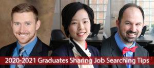 2020-2021 Graduates Sharing Job Searching Tips